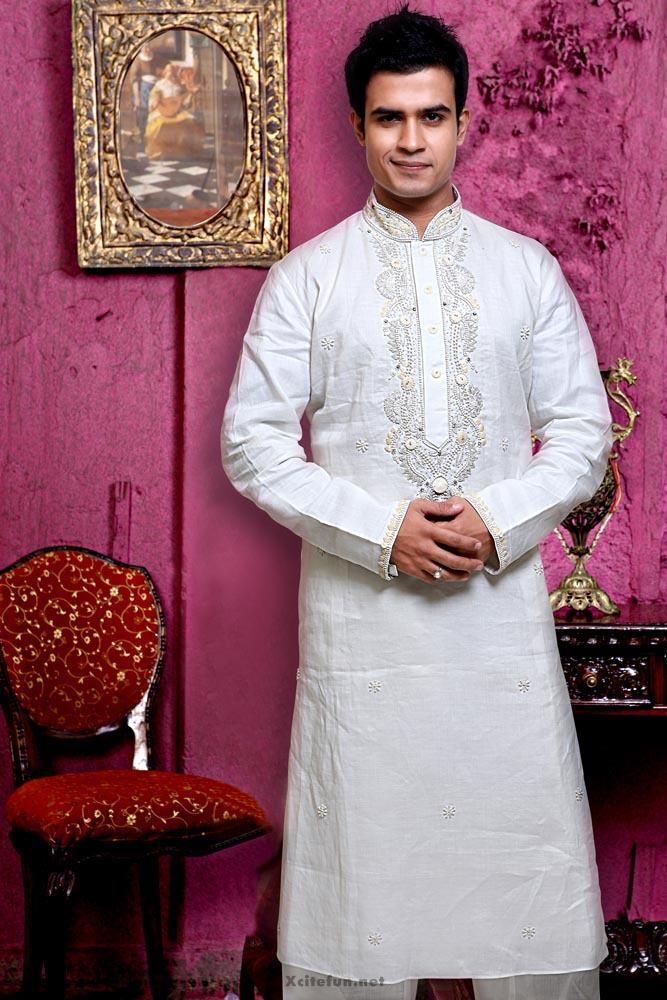 25 Latest Men's Eid Shalwar Kameez Designs For This Eid  |White Salwar Kameez Designs For Men