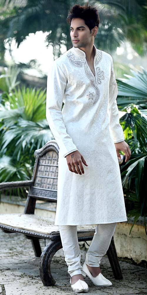 Stylish Mens White Cotton Shalwar Kameez California CA USA ...  |White Salwar Kameez Designs For Men