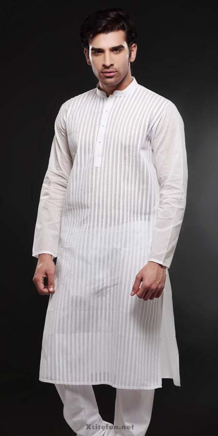 New Embroidery Designs For Men | Designs For gents kameez ...  |White Salwar Kameez Designs For Men