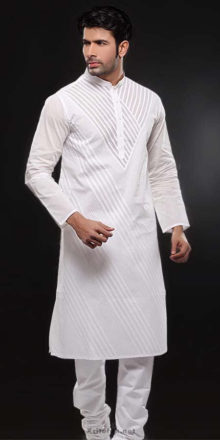 Mens Shalwar Kameez Black White Indian Pakistani Salwar ...  |White Salwar Kameez Designs For Men