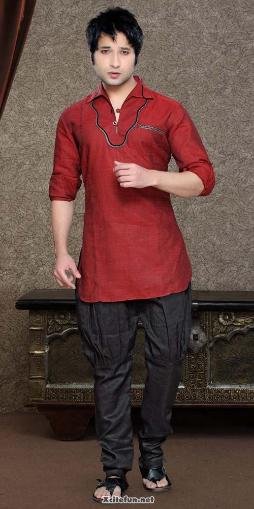 Men Short Kurtas With French Pajama - Eid Wear - XciteFun.net