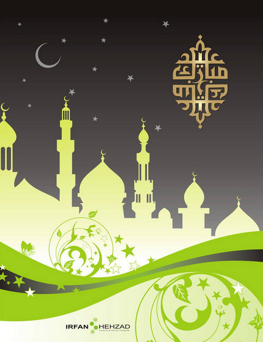 eid mubarak greeting wallpapers  eid cards 2012