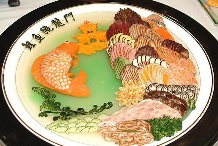 أطعمة صينية على شكل لوحة فنية 300759,xcitefun-chin