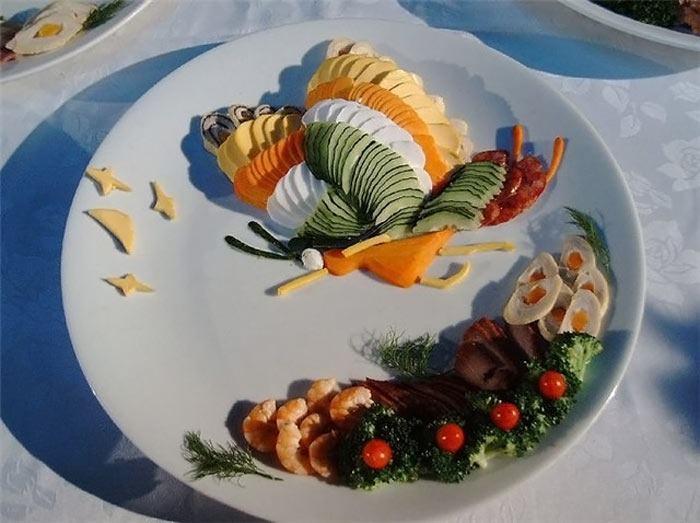أطعمة صينية على شكل لوحة فنية 300762,xcitefun-chin