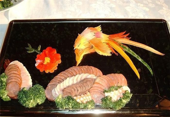 أطعمة صينية على شكل لوحة فنية 300763,xcitefun-chin