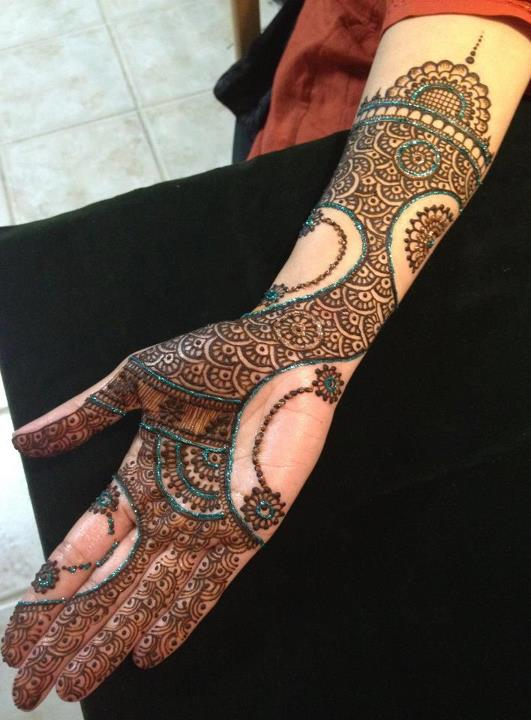 Unique And Beautiful Mehndi Designs Xcitefun Net