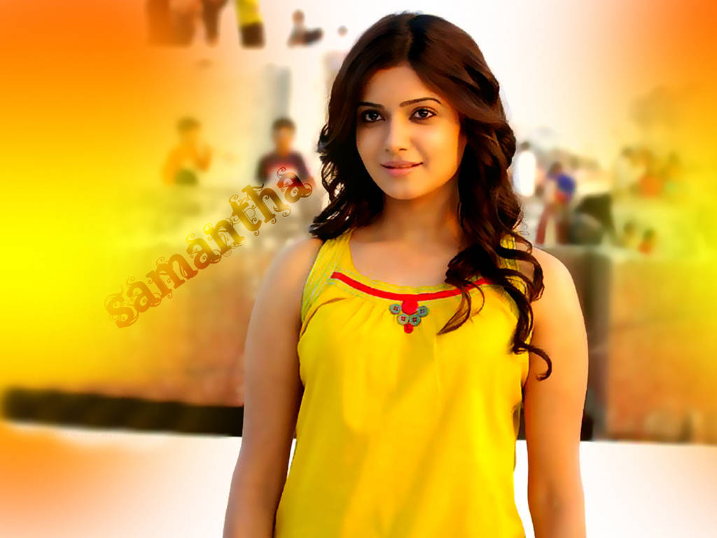 Telugu All Heroines Pictures Wallpapers: Telugu Actress Samantha Wallpapers