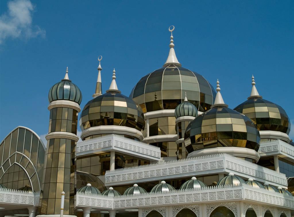 Crystal Mosque Malaysia Amazing Crystal Design