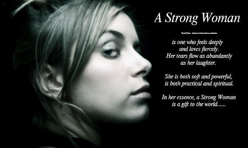 Posted: aug 30, 2012 topic views : 13770 post subject: a strong woman