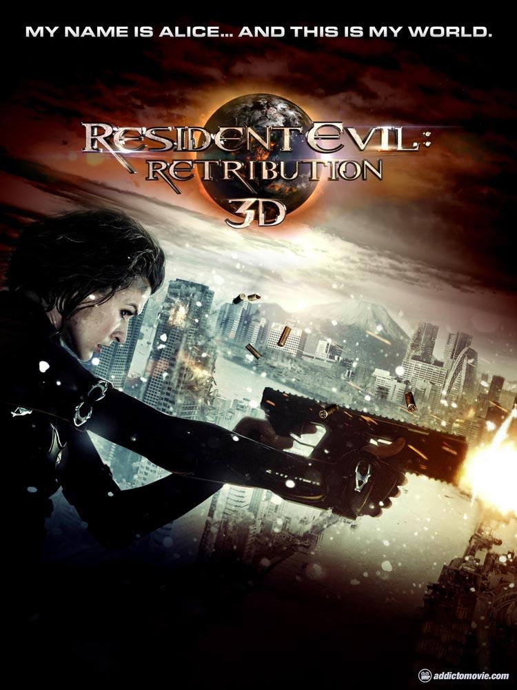 Resident Evil Retribution Movie Poster and Trailer ...