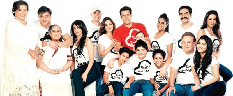 Salman Khan New Family Photo