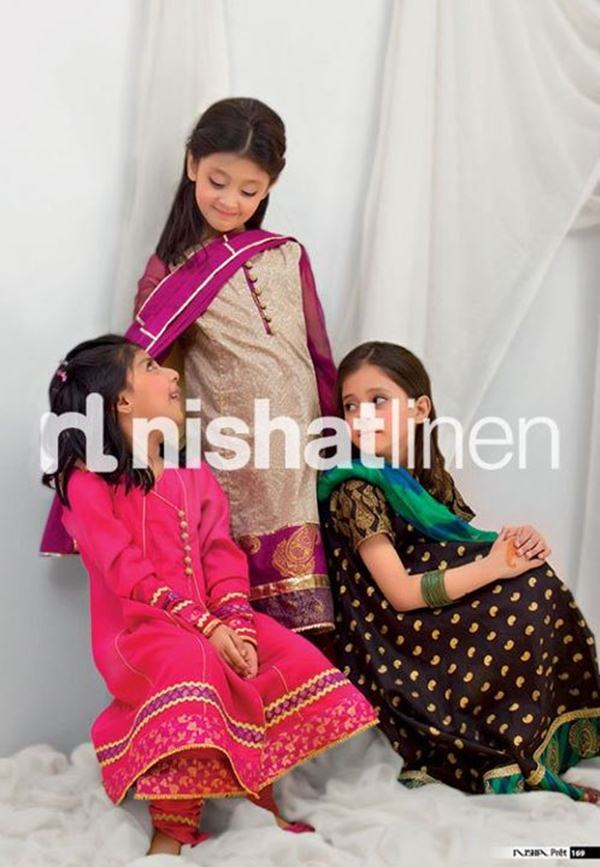 2b66b41d5 Forum » Nishat Collection For Little Princess » DOSTEE.PK ...