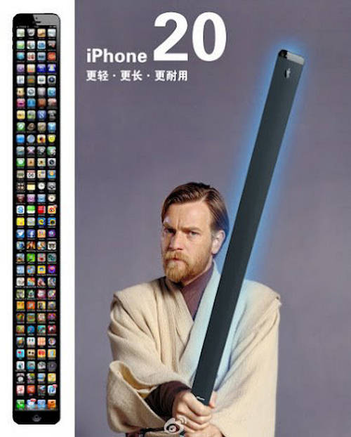 Apple iPhone 20 - This Is The Tallest IPhone YetIphone 20