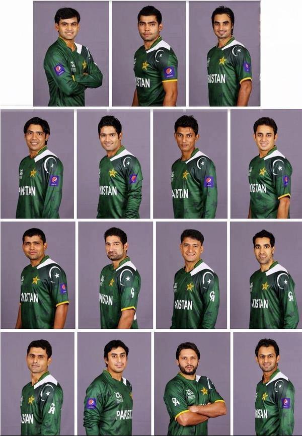 Pakistan Cricket Team Squad - T20 World Cup 2012