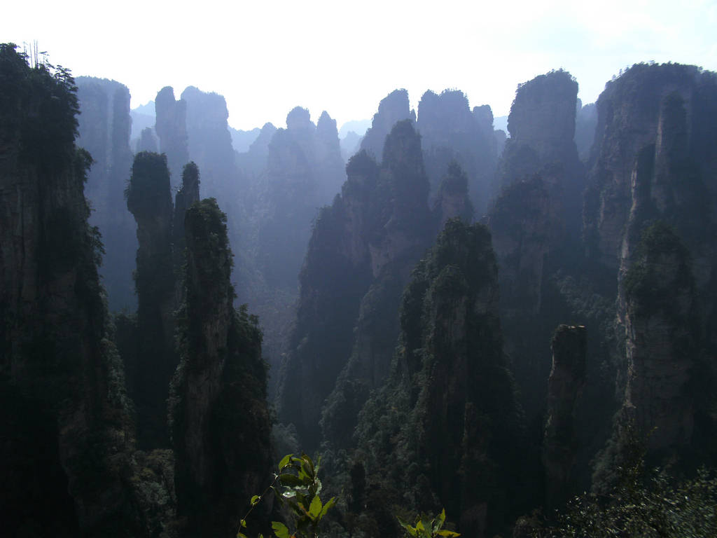 Zhangjiajie China City Of Rocks Xcitefun Net