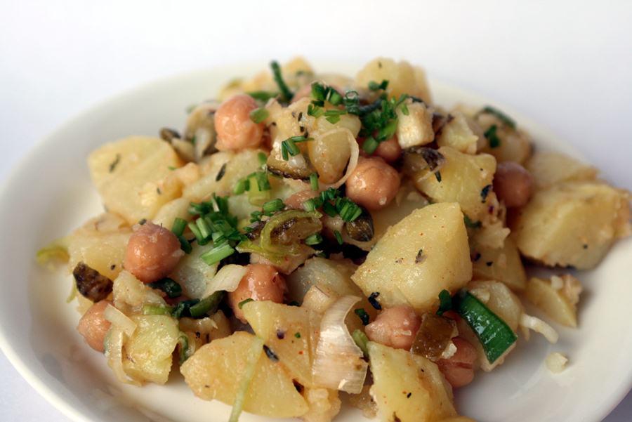 Салаты из картошки рецепты с фото