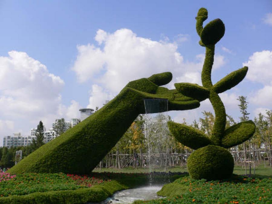 Green Animal Garden