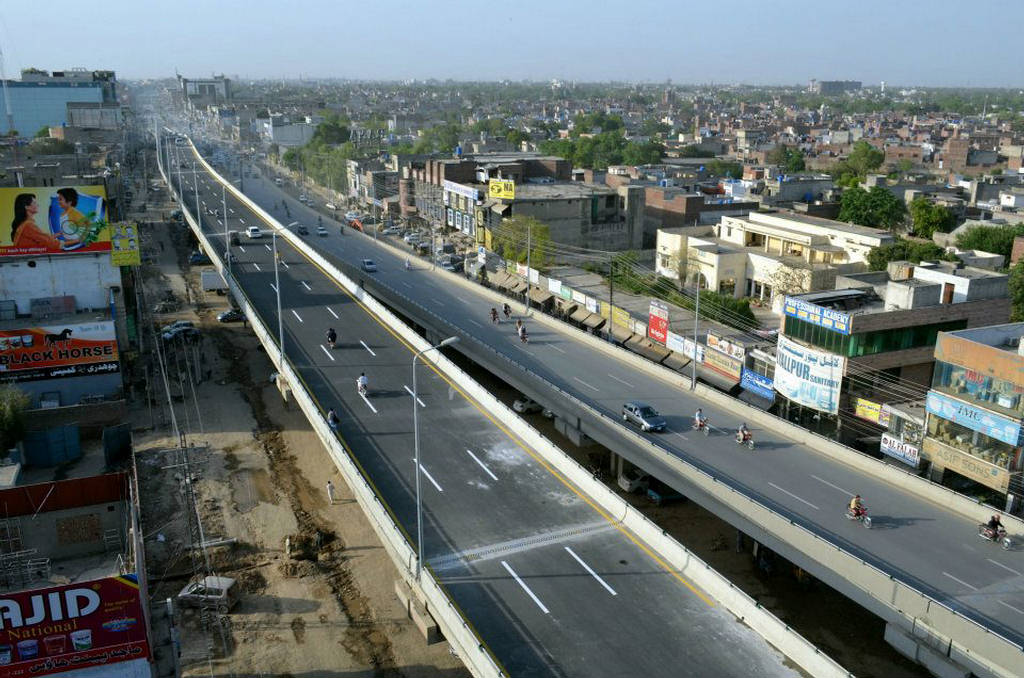 Lahore Flyover Pictures Ichra Flyover Lahore