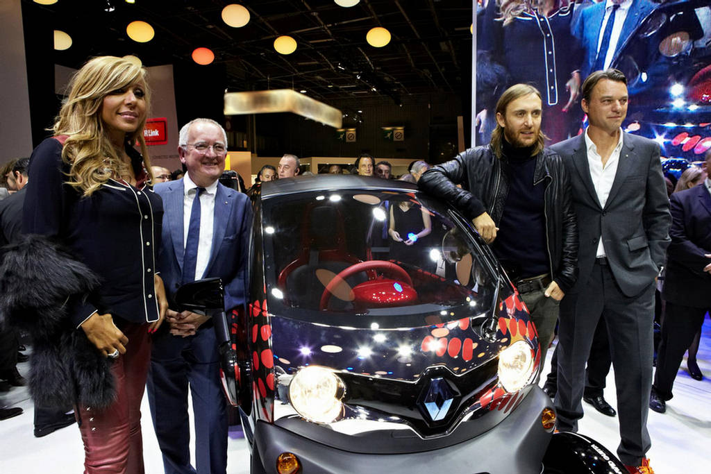 Renault Twizy By Cathy Amp David Guetta Xcitefun Net