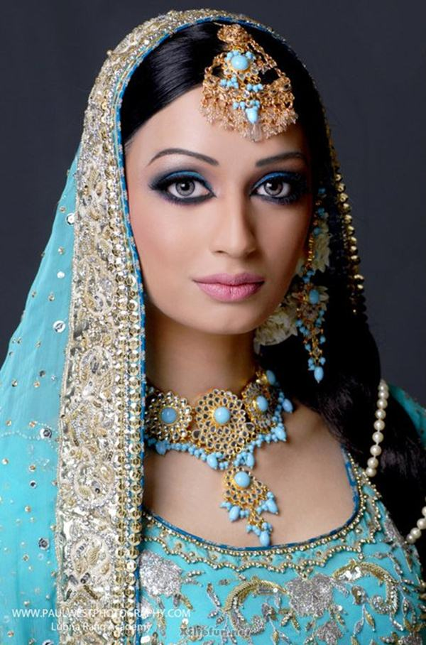 Exotic Wedding Makeup : Bridal Wedding Makeup Look And Jewelry - XciteFun.net