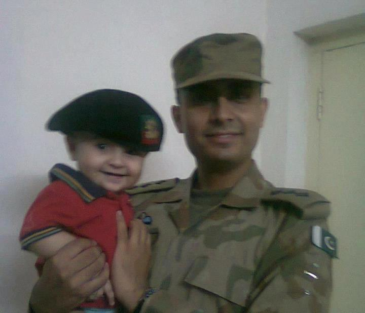 Life of Capt Fasih Shaheed in pictures