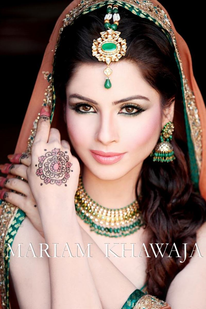 Bridal Makeover by Mariam Khawaja - XciteFun.net
