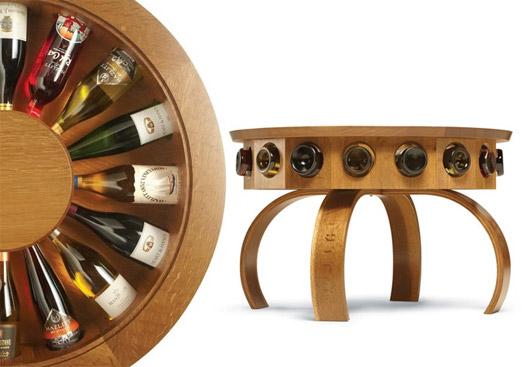 Multi purpose furniture designs - Accessori vino design ...