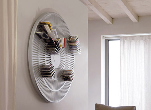Creative cd holder designs - Porta dvd da parete ...