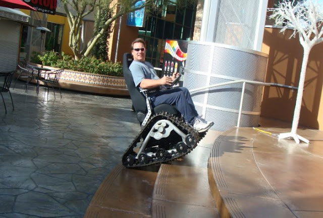 Off Road Design >> The Tank Chair - Off-Road Wheelchair - XciteFun.net