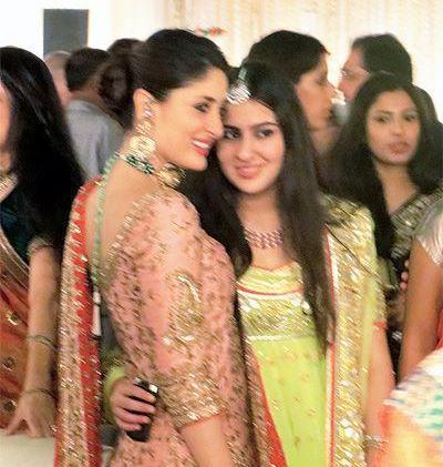 Kareena Kapoor with Sara Ali Khan