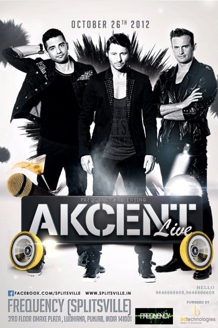 Akcent Live Concert In India 2012