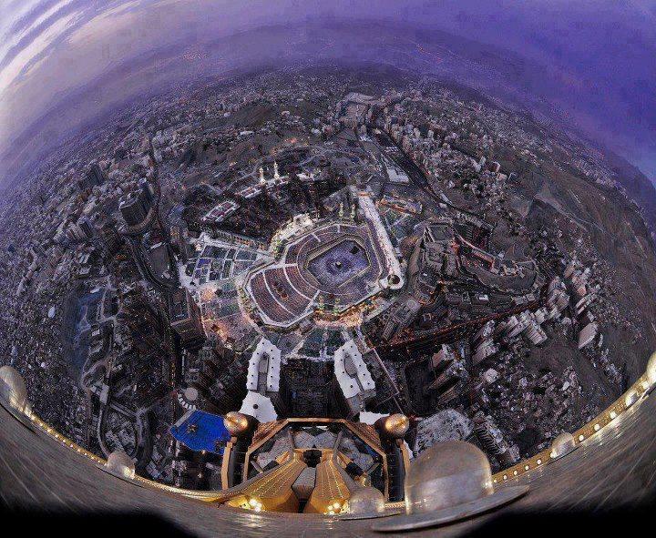 awesome view of khana kaba