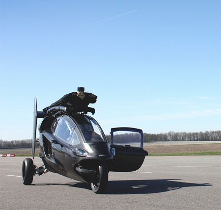 Helicopter Car By Pal V Xcitefun Net