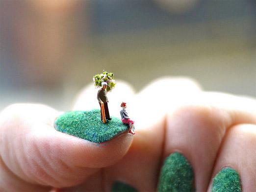 306254xcitefun fingernail landscape 3 - Creative Fingernail Landscapes