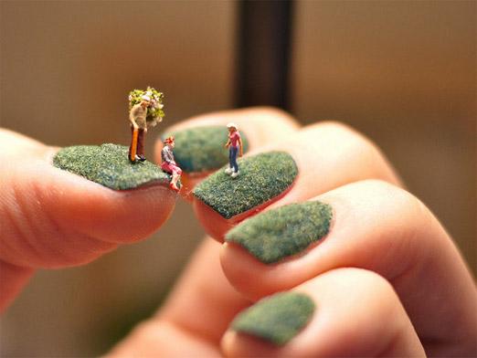 306256xcitefun fingernail landscape 1 - Creative Fingernail Landscapes
