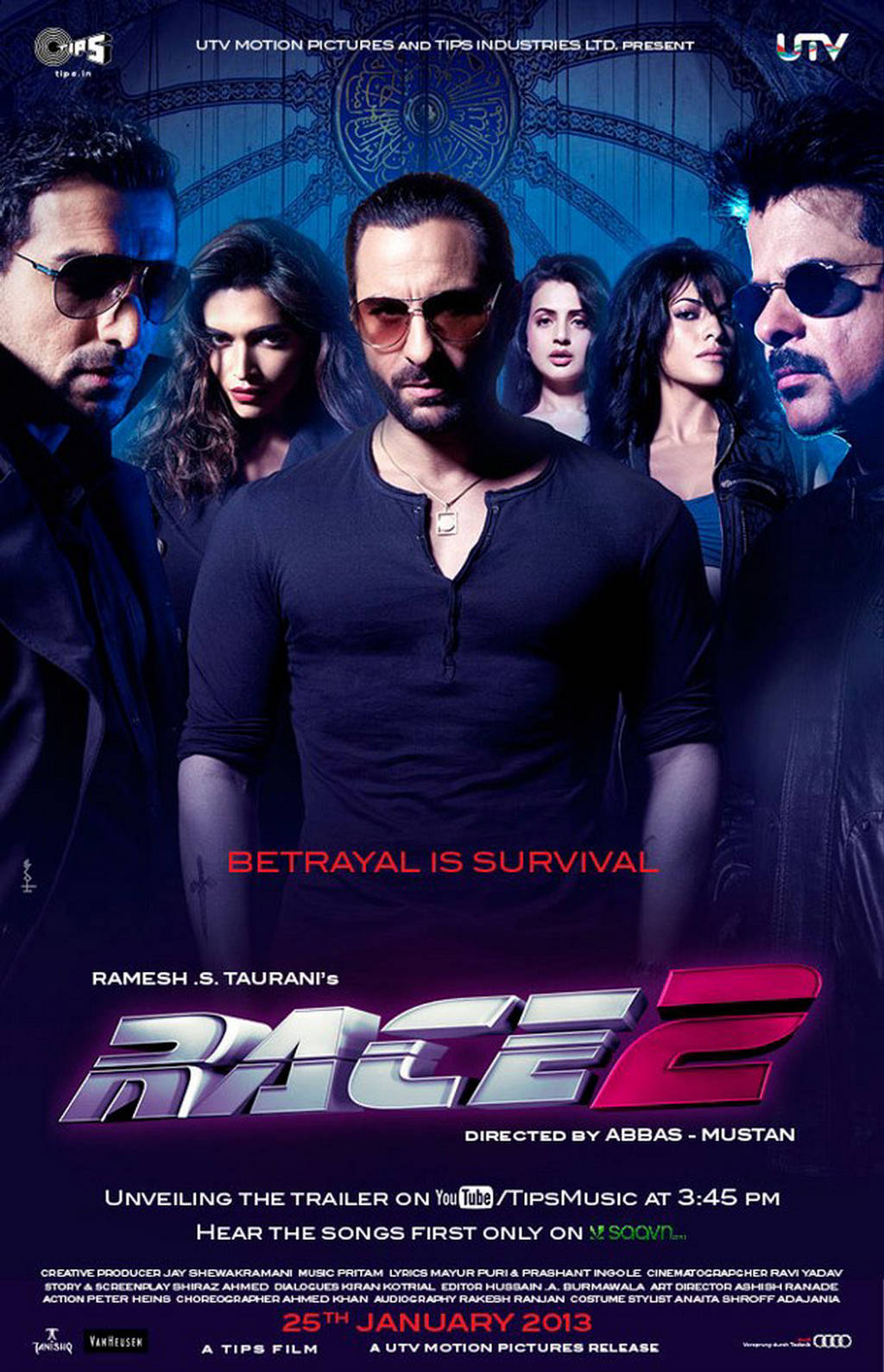 Race 2 Movie [2013] - Theatrical Trailer - XciteFun.net Race 2