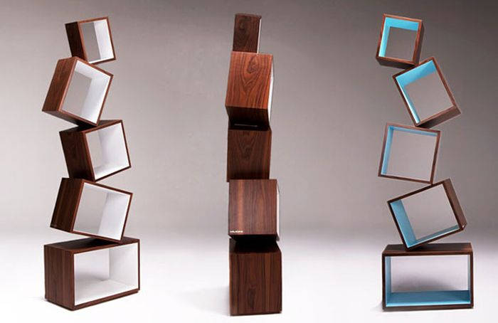 Creative Bookshelves Design 700 x 454