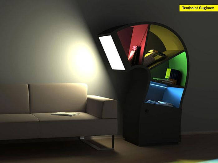307042xcitefun creative bookshelf 1 - Creative Bookshelf Designs