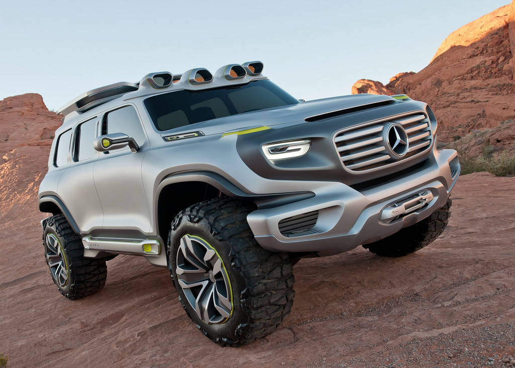 MercedesBenz EnerGForce Concept Of 2012