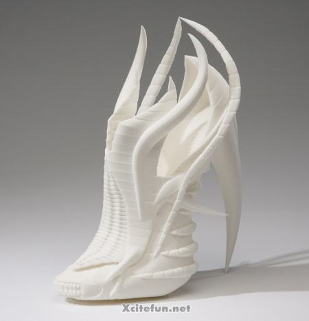 17c2d60e8ec Unusual High Heel 3D Printed Shoes By Janina Alleyne - XciteFun.net