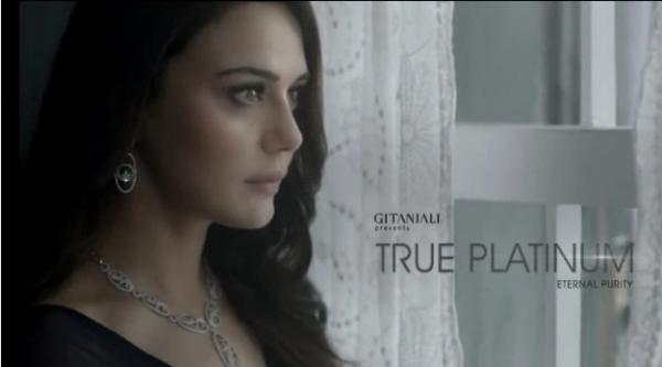 Gitanjali Platinum Jewelry TVC ft Preity Zinta