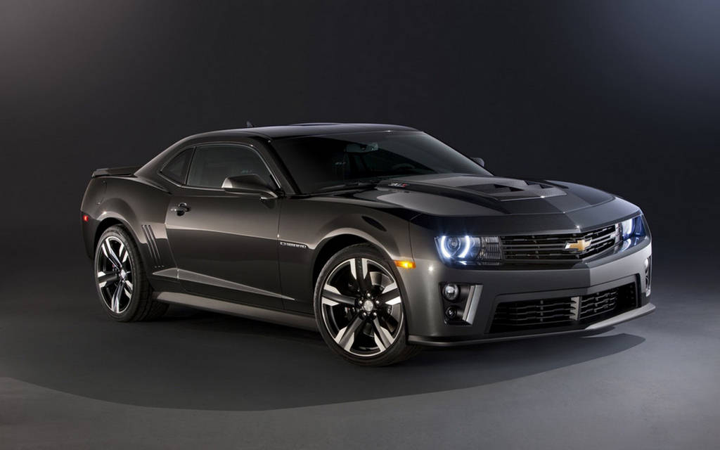 Most Stylish Muscle Car  Chevrolet Camaro ZL1