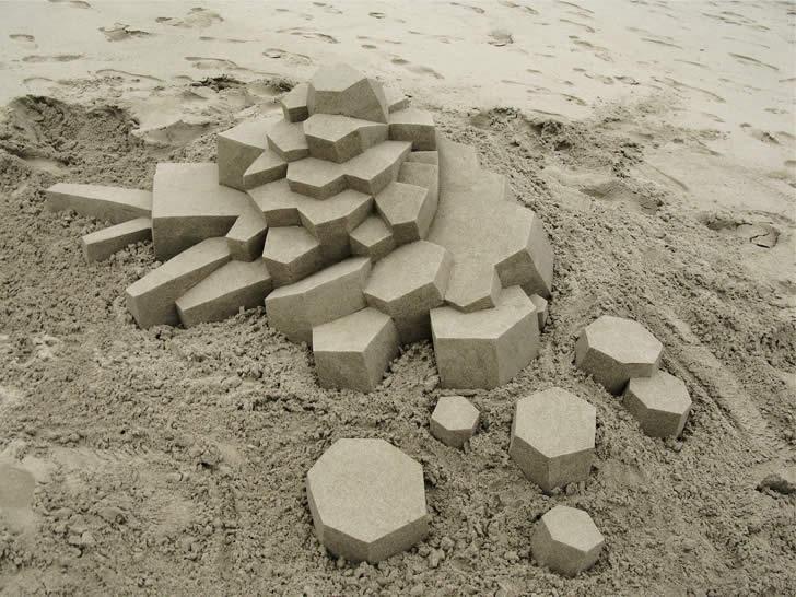 Ultra Modern Sand Castles