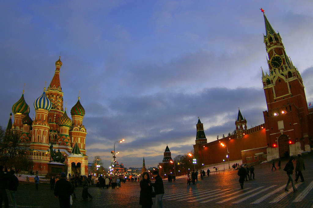 Red Square Moscow - Russia : Travel Tourism