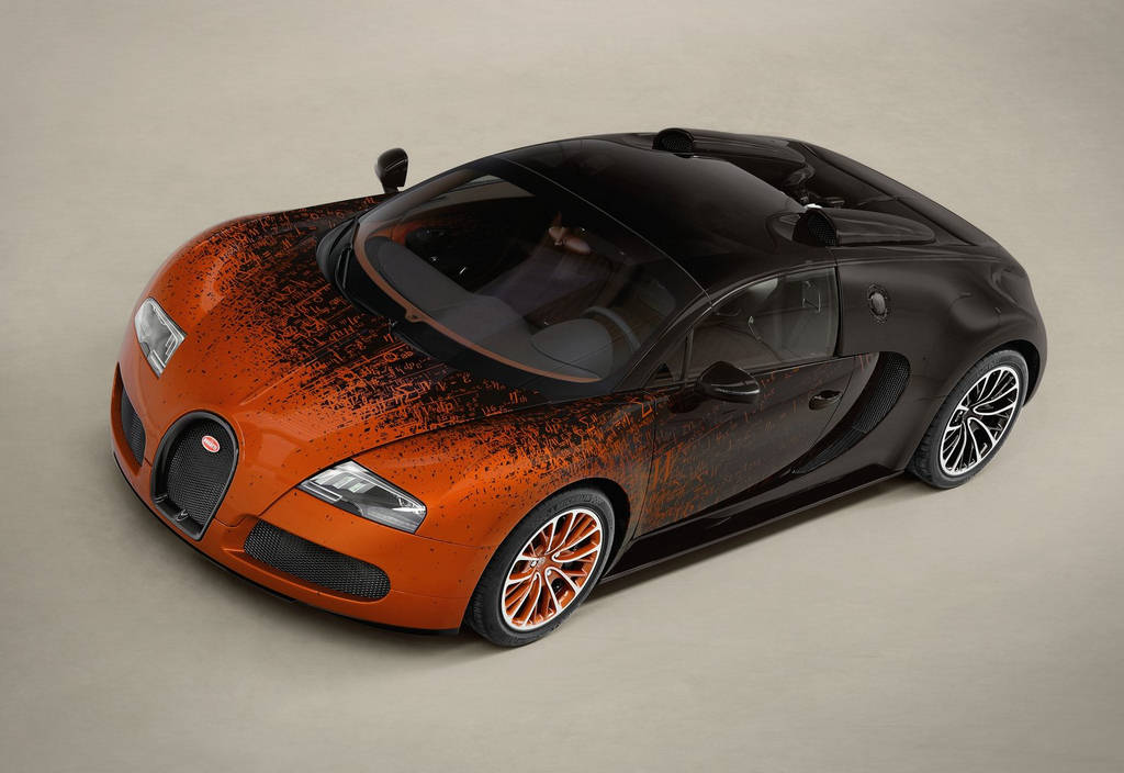 Bugatti Veyron Bernar Venet Wallpapers
