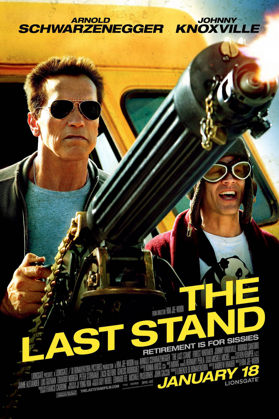The Last Stand 2013  Arnold New Movie