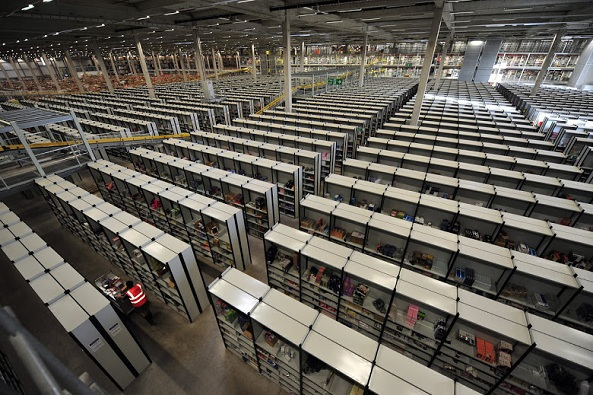 Largest Amazon Warehouse Amazon Warehouse Inside Visit