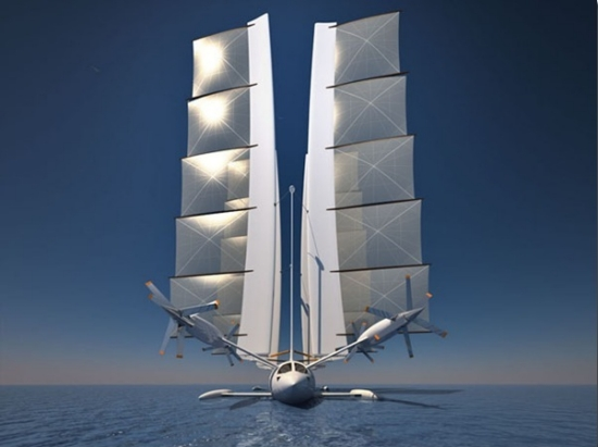 Innovative Flying Yacht