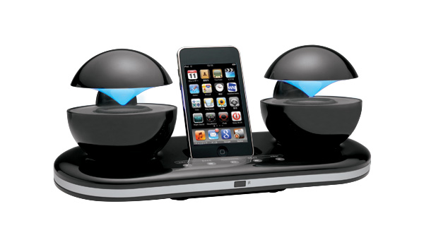 Stylish Speakers Cool Of iPod Docking Station with Speakers Image
