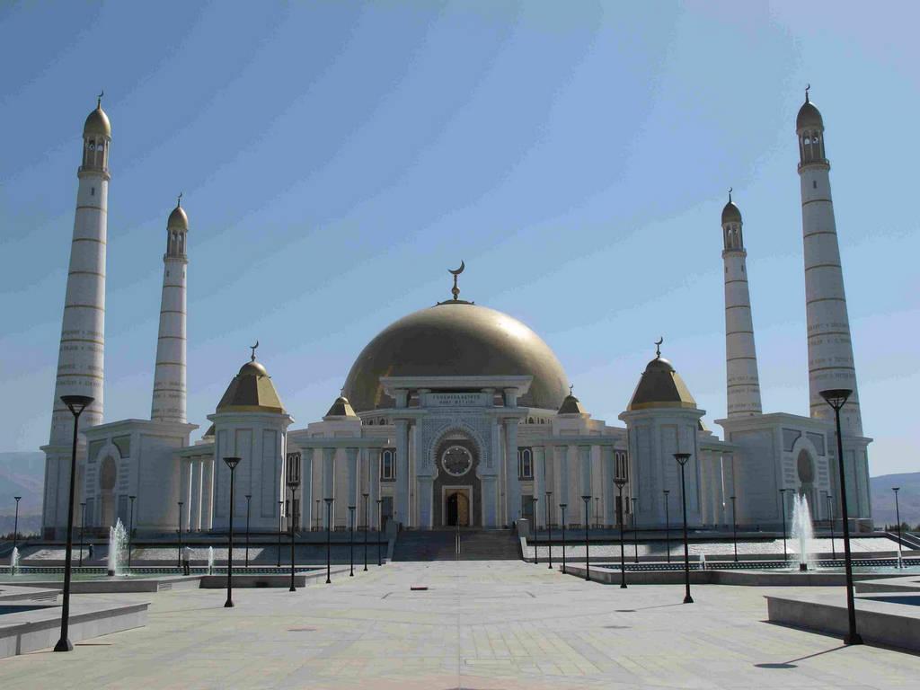 Turkmenbasy Mosque  Turkmenistan